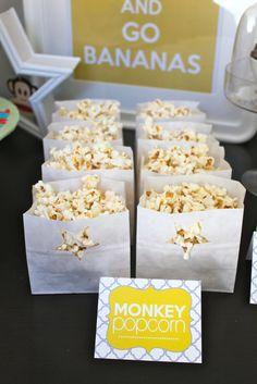 Monkey Popcorn!