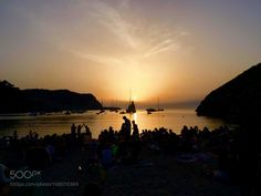 "sunset in Ibiza Go to http://iBoatCity.com and use code PINTEREST for free shipping on your first order! (Lower 48 USA Only). Sign up for our email newsletter to get your free guide: ""Boat Buyer's Guide for Beginners."""