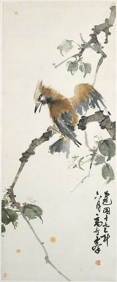 Woodpecker - Gao Qifeng (Chinese, 1889–1933)