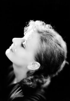 Photo of Greta Garbo by Clarence Sinclair Bull, 1929, publicity for The Kiss
