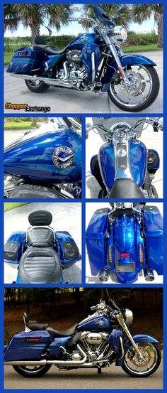 FOR SALE: 2013 #HarleyDavidson #FLHRSE5 #CVO #ScreaminEagle #RoadKing   Brand New (Only 18 Miles) - $26,800.   Broken Arrow, OK   LOTS OF UPGRADES! == Click on the image above to see more photos, full listing details, seller's contact info. or visit www.ChopperExchange.com/462298 #motorcycle #2wheels #chopper #vtwin #chopperexchange #livetoride #ridetolive
