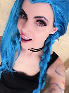 Best Cosplay di Jinx League of Legends