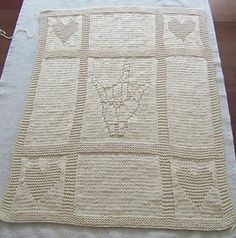 Looking for your next project? You're going to love I love you baby blanket by designer Amy-lynne Mitchell.