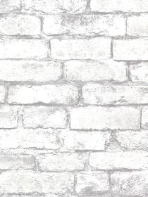 Brewster Wallcovering Oxford Wall Paper Brickwork Light Grey Exposed Brick Texture pattern 260421261. Keywords describing this pattern are faux, bricks, brickwall.  Colors in this pattern are Pink, Yellow.  Alternate color patterns are 260421258;Page:41;260421259;Page:51;260421260;Page:47.  Coordinating patterns are 260421251;Page:44;260421252;Page:43. Product Details:  strippable  washable  Material is Non-Woven. Product Information:  Book name: Oxford Pattern name: Brickwork Light Grey…
