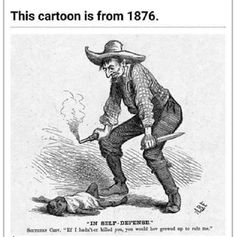 """""""In self defence!"""" the title is almost prophetic. The caption reads, if i hadn't of killed you, you would have grown up to rule me. Nothing and i mean nothing has changed!!!!!"""
