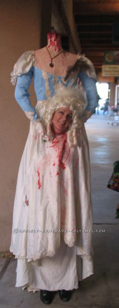 Cool Headless Marie Antoinette Costume… Coolest Halloween Costume Contest
