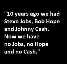 Jobs, Hope, & Cash