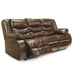 Simmons 174 Bucaneer Cocoa Reclining Sofa At Big Lots Going