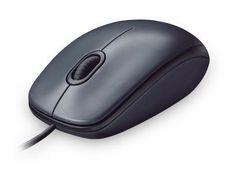 MOUSE LOGITECH M100 NEGRO USB CABLEADO #specialtech