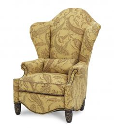 Essex Manor High Back Wing Chair | AICO | Home Gallery Stores