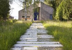 Contemporary but informal with lots of weeding ahead. designed by Hans Kreye