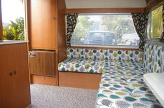 It was a very long day ahead of us one Saturday morning […] One Saturday Morning, Retro Caravan, Caravan Renovation, Caravans, Bed, Mustard, Furniture, Home Decor, Decoration Home