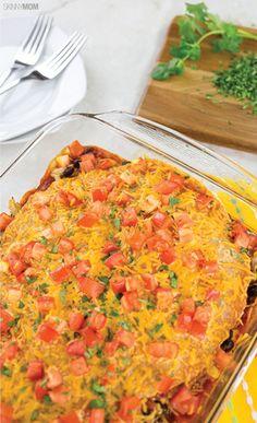Healthy dinners: Chicken Enchilada Casserole
