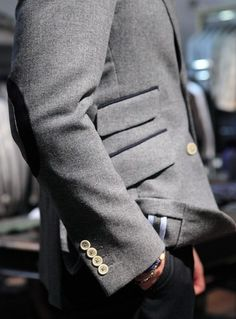 When you get your suit home, you'll need a seam ripper or a small, sharp pair of scissors. 27 Unspoken Suit Rules Every Man Should Know Style Blog, My Style, Sharp Dressed Man, Well Dressed Men, Suit Fashion, Mens Fashion, Fashion Rings, Mode Lookbook, Every Man