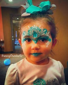 Happy Birthday Frozen Party Face Painting by FunnyCheeksTJ Dallas Face Painter Frozen Party, Frozen Birthday, Happy Birthday, Princess Crowns, Dallas, Amazing, Funny, Face, Painting