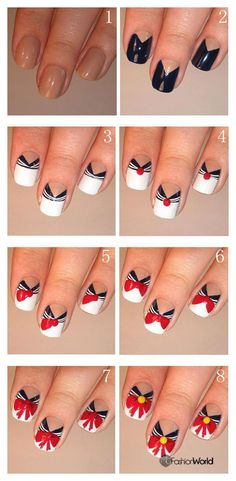 How to make chciky nail designs | FASHION WORLD