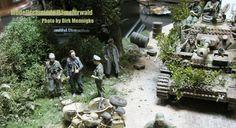 SMC Veldhoven 2016 Part III by Dirk Mennigke - Modellschmiede Hämelerwald Models, Military Vehicles, Panther, Miniatures, War, Dioramas, Normandie, Model Building, Templates