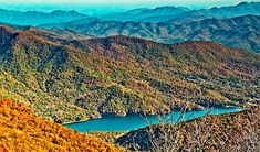 Long range mountain views along the Blue Ridge Parkway during autumn provides a restful gaze. Blue Ridge Parkway, Mountain View, Nature Photos, Photo Art, City Photo, Nice, Photography, Photograph, Fotografie