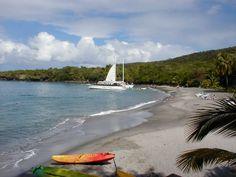 Ti Kaye Village private beach, St. Lucia