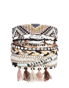 Hipanema shadow bracelet #bracelet #pompom #hipanema