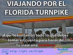 Si vas a viajar por la Florida Turnpike aquí te contamos varias recomendaciones a tomar en cuenta ==> http://g2l.us/fltpk