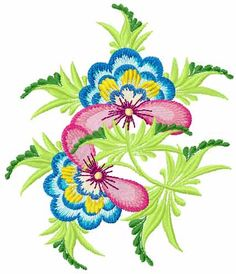 Flower free embroidery design 47 - Flowers free machine embroidery designs - Machine embroidery community
