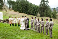 YES for whole wedding party! (minus the Hunter boots...that's a no go)