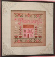 Cottage of the Month February by Country Cottage Needleworks, mini chart (project box)