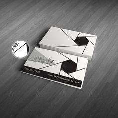 Equipos tarjetas de visita de la fotografía por TheGraphicGeekFL