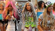 Sharla in Japan: GYARU Makeover with Black Diamond ♥︎ シャーラがギャルに大変身!