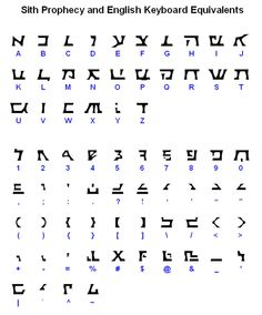Sith Prophecy Font