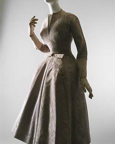 """La Cigale"" Dress, House of Dior, French, F/W 1952-53, silk"