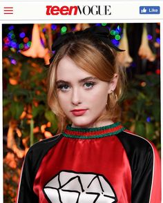 """8,838 Likes, 78 Comments - KATHRYN NEWTON (@kathrynlnewton) on Instagram: """"#lifeisgucci thank you @teenvogue ❤️💎❤️ #tvyounghollywood #teenvogue #gucci #guccighost"""""""