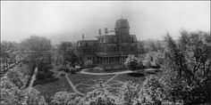 The William G. Fargo mansion was adjacent to what is now the D'Youville campus. Monument Valley, Places To Visit, Archive, College, Mansions, Nature, Travel, University, Naturaleza
