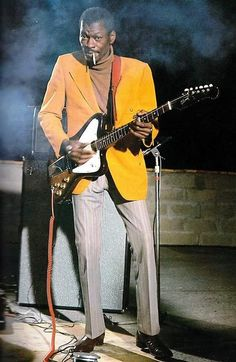 "black-sun-tabloid: "" rockincountryblues: "" Clarence ""Gatemouth"" Brown "" Non-Reverse Firebird VII "" Rhythm And Blues, Jazz Blues, Blues Music, Music Icon, Soul Music, Instrumental, Gibson Firebird, Bagdad, Blues Artists"