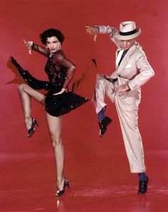 """Cyd Charisse and Fred Astaire in """"The Band Wagon"""""""