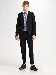 D Squared - Two-Button Notch Wool Suit