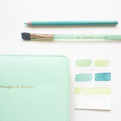 I might be obsessed with teal.  What is your color obsession? #colorobsession #toolsofthetrade