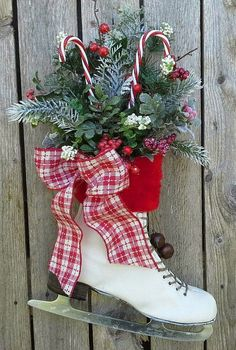 Decorated Ice Skate