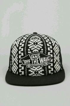 GORRA VANS NEGRO Y BLANCO Vans Hats d6531e15ae2