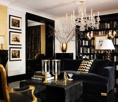 Black White & Gold | Ralph Lauren Home