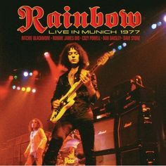 RAINBOW     One of my favorite live performances ever.   Richie was an exceptional song writer, and in my opinion the best work of his career was done with Ronnie James Dio.  The man dressed in white in the back should be standing right next to Richie Blackmore.  Check out the videos on YouTube.  This was Dio's voice supremely in its prime.