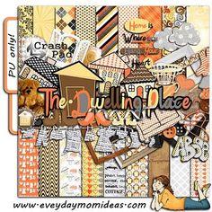 The Dwelling Place (free digital scrapbooking)