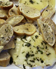 "<p><span style=""font-size: 13px; font-family: Arial;"">Just a touch of herbs adds a special flavor to this super simple appetizer. <a href=""http://princesspinkygirl.com/baked-brie-appetizer/"" target=""_blank"">Get the recipe HERE!</a></span></p>"