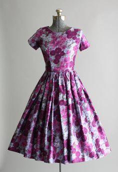 Vintage 1950s Dress / Kay Windsor / Tuesday Rose Vintage