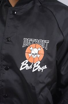 Vintage Detroit Pistons 1988 Bad Boys jacket NWT by And Still x For All To Envy at karmaloop.com $160