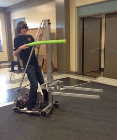 Noodle jousting on rev 1 of the 2015 robot. *so productive* First Robotics Competition, Robotics Projects, Rev 1, Science And Technology, Noodle, Robots, Programming, Alice, Coding