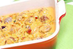 Receta de Albóndigas en salsa de verduras con Thermomix