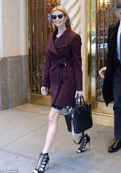 Ivanka Trump puts on a leggy display as she heads to meet with Al Gore