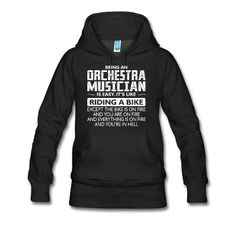 Being An Orchestra Musician Like Bike Is On Fire T-Shirt | Marketplace PreDesigned Products